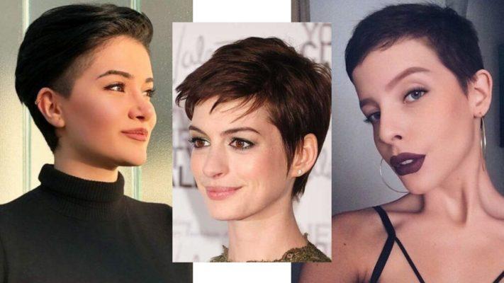Corte de cabelo curto feminino estilo 'joãozinho'.
