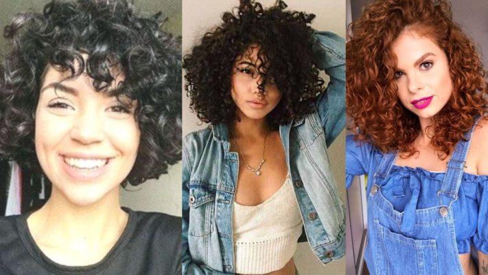 Corte de cabelo curto feminino para cabelos encaracolados.