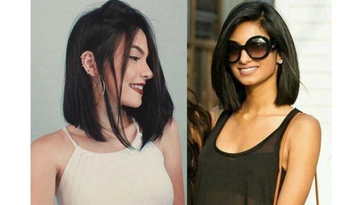 Para quem não quer o cabelo tão curto, vale a pena apostar no comprimento acima dos ombros.