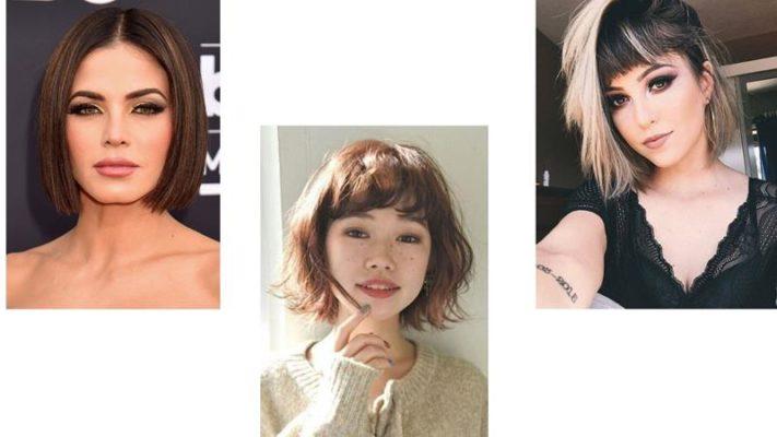 Corte de cabelo da moda: O short blunt é perfeito para quem tem os fios mais finos e deseja um corte que dê a impressão de volume.