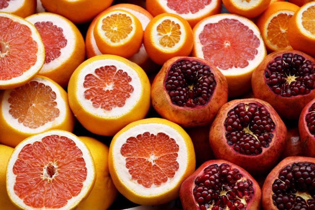 laranja e cenoura para manter bom insumo de vitamina c
